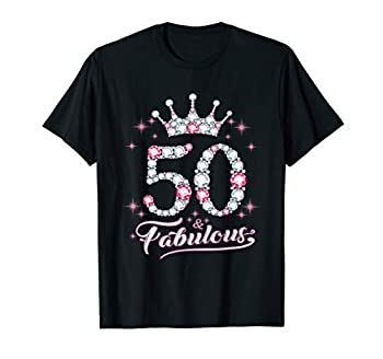 50 And & Fabulous 1969 50Th Birthday Gift Tee For Womens T-Shirt