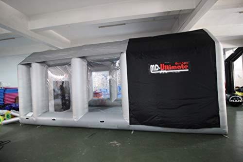 MD-Ultimate Cabina de pintura Pro Line 7X4X3H – Ventilación reforzada – De Stock en Bélgica