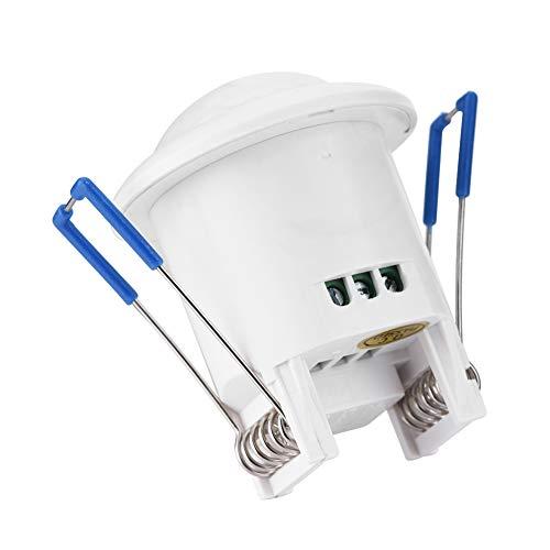 Schakelaar voor LED, 360 °, automatisch, infrarood, PIR Motion Sensor, schakelaar met vertraging voor plafondlamp