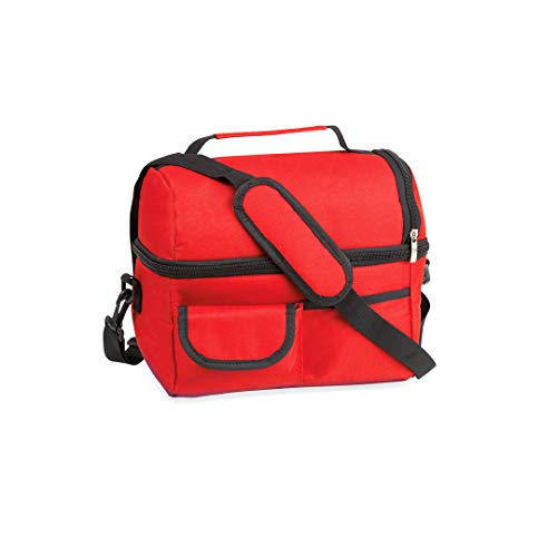 Bolso térmico, nevera portátil, bolsa isotérmica, transporta alimentos, bolsa para mantener la temperatura, bolso para llevar comida al trabajo, bolsa térmica porta alimentos, Uvimark