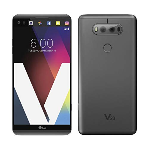 LG V20 64GB H918 - Unlocked by T-Mobile for all GSM Carriers (Titan Gray)