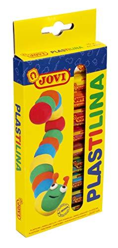 Jovi- Plastilina, 10 colors (216005)