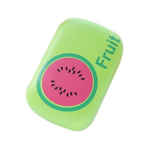 Fablcrew Glasses Case Boîte de lentille de Contact de Fruit Vert matériel de pastèque: PU, Taille: 8.5cm * 5.8cm * 3cm.