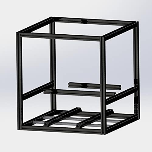 Misumi HFSB5-2020 extrusion Frame Kit for VORON 2.4 3d Printer black anodized Blind Joints For VORON 2.4 VORON EXTRUSIONS