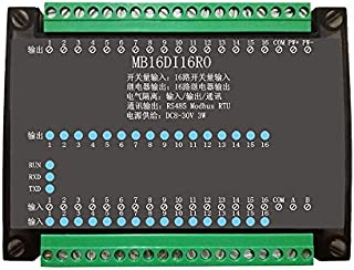 SHAPB 16DI/16RO 16 Road Digital Isolation Input Module 16 Channel Relay Output Data Acquisition Control Board RS485 Modbus Module