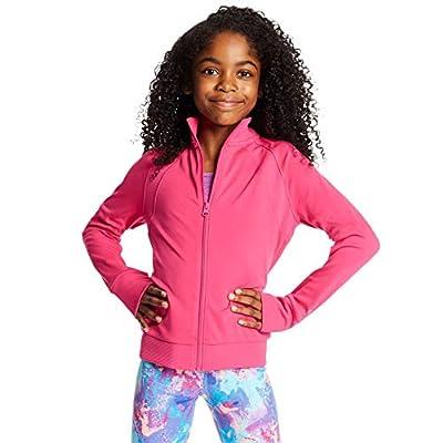 C9 Champion Girls' Cardio Jacket, Amaranth, Medium