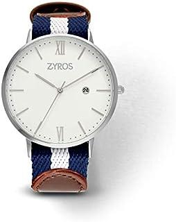 Zyros Watch for Men, Analog, Fabric - ZAL021M117411