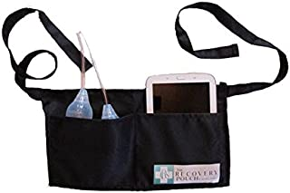 Heal in Comfort Breast Cancer Mastectomy Drainage Pouch Apron Belt 2 Large Pockets Enough for Drains Cell Phones TV Changer