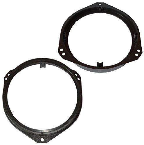 Aerzetix: 2 Adaptadores soportes de Altavoces - 165mm - Puertas Delanteras/Traseras – para Automóvil