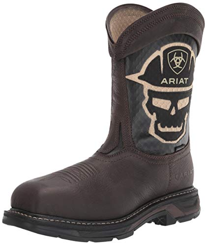 ARIAT mens Work Boot Fire and Safety Shoe, Iron Coffee, 11.5 Wide US
