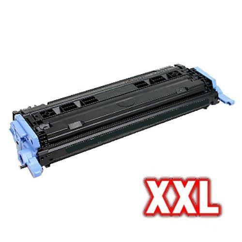 Print-Klex kompatibler XL Toner SCHWARZ für HP Q6000A 124A Color LaserJet 1600 Color LaserJet 2600 Color Laser Jet 2600N BLACK