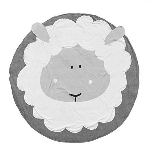 ZTBXQ Freizeit und Unterhaltung Baby Spielmatte Baumwolle Weiche Baby Schlafmatten Boden Teppich Baby Gym Aktivität Raumdekor Kriechdecke