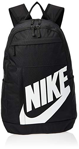 Nike Unisex's Elemental - 2.0 Backpack, Black/Black/White, One Size