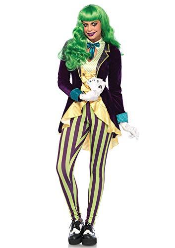 Leg Avenue 85589 - kostuum set boze swingler dames carnaval, XS, meerkleurig