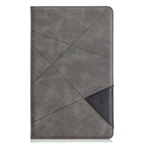 HHF Tab Accessories For Samsung Galaxy Tab A 10.1 T510 2019, Leather Magnetic Protective Cover for Samsung Tab A 2019 T515 SM-T515 (Color : Gray, Size : Tab a 10.1 T510 T515)