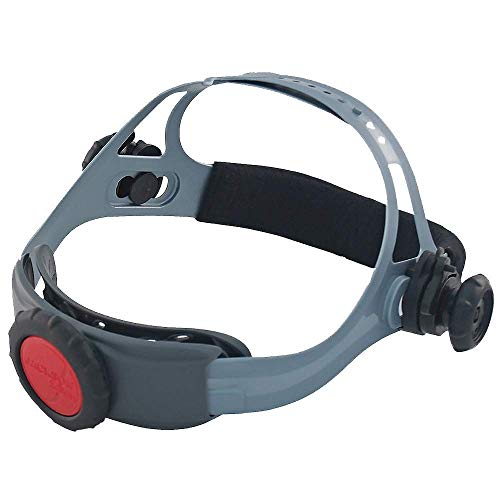 Jackson Safety Replacement 370 Headgear for Various Jackson Safety Welding Helmets, Adjustable, Black/Grey, 20696