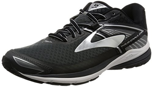 Brooks Ravenna 8, Zapatos para Correr para Hombre, (Black/Classic Green/Nightlife), 42 EU