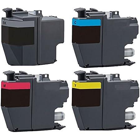 Druckerpatronen Set Wie Lc 3219 Xl Black Cyan Magenta Yellow Für Mfc J5330 Mfc J5330 Xl Mfc J5335 Mfc J5730 Mfc J5830 Mfc J5930 Mfc J6530 Mfc J6535 Mfc J6730 Mfc J6930 Mfc J6935 Bürobedarf Schreibwaren