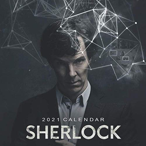 Sherlock: Happy New Year 2021 with this small amazing 8.5''x8.5'' Calendar