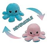 Lianxing Niedliche Octopus Plüschtiere Doppelseitige Flip Octopus Puppe, Weiche Reversible Octopus...