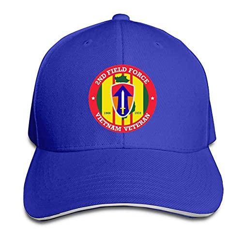 485 Gorra Trucker Segundo Veterano De La Fuerza De Ventas De Vietnam Sombrero De Papá Retro Sombrero Deportivo para Mujer Deportes Corriendo