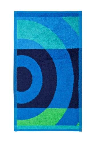 Desigual - Toalla Lavabo Big Circle(50x100 cm), Color Azul Navy