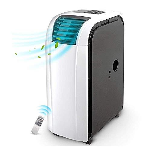 Mini Aire Acondicionado Portátil, Aire acondicionado, móvil, sin manguera de refrigeración ER, ventilador de hogar, control remoto, acondicionador pequeño, calentador de agua móvil, ,Ventilador de Enf