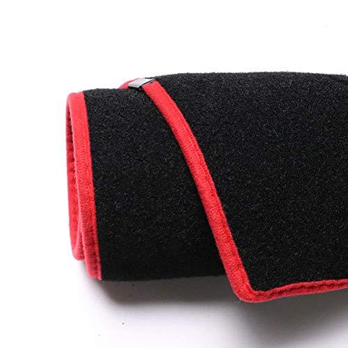 MIOAHD Auto Armaturenbrett Abdeckung Dash Mat Board Pad, passend für BMW 1series F20 F21 2012-19