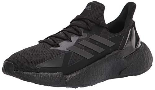adidas Men's X9000L4 Running Shoe, Black/Black/Grey, 9.5