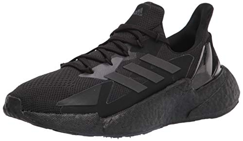 adidas Men's X9000L4 Running Shoe, Black/Black/Grey, 11