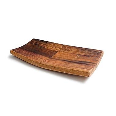 Rustic Oak Plate, Serving Tray (14  x 6  x 1 )