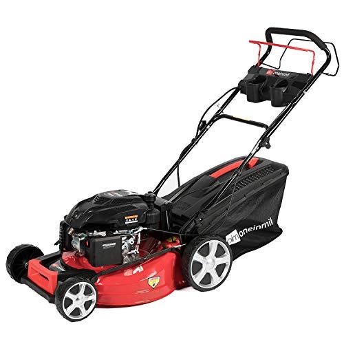 oneinmil Self Propelled Lawn Mower - RV175D 173.9cc Gas 21'. 4-in-1 Rear Wheel Drive Self Propel & Electric Start Gas Lawn Mower