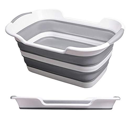ZMAYASTAR バケツ 折りたたみ コンパクト カゴ ワイド 収納 携帯 つけ置き洗い ソフトタイプ 洗い桶 折りたたみ式バケツ ZM-XT-068