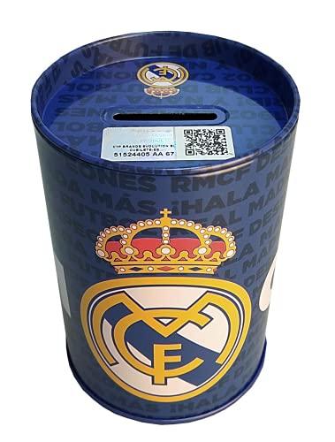 C Y P- Hucha Cubilete Real Madrid Accesorios, Multicolor, Talla única (CYP PH-16-RM)