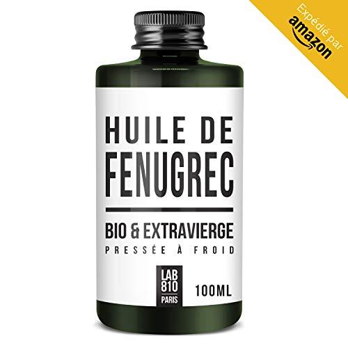 OLIO DI FIENO GRECO BIOLOGICO - Trigonella 100% puro e naturale, pressato a freddo e vergine extra. Aumento del seno (100ml)