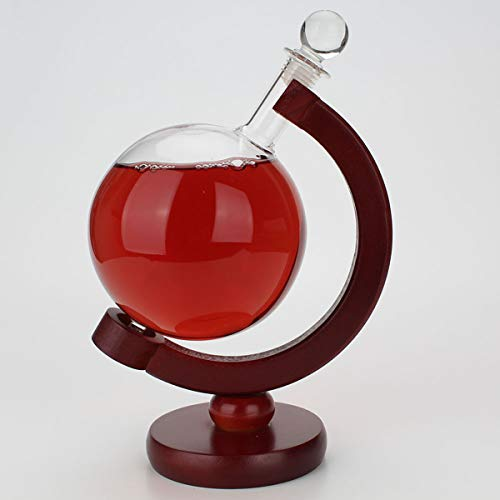 DyNamic 500Ml Tafelblad Globe Bar Whisky Stand Rack Pot Houten Tafel Stand Display Decoraties