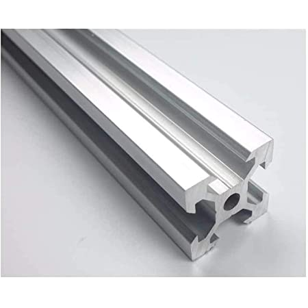 novo3d.in Aluminium profile 2020 accurate v slot profile for 3D printer in various length with/without tapping - 1pc.