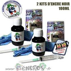 Kit encre-pack X2Kit tinta negro HP20–Jet tinta