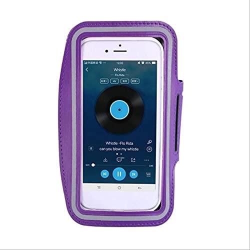 Venuy 2 unids deporte brazalete caso 5.5 pulgadas teléfono moda titular para mujeres en mano Smartphone bolsos Sling Running Gym brazo banda fitness