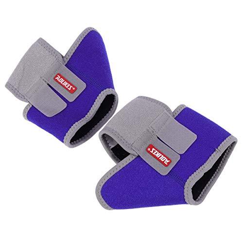 LIOOBO 1 para Kinder Knöchelschutz Socken Gym Laufschutz Fuß Bandage Elastische Knöchelbandage Schutz Sport Fitness Unterstützung- Kostenlos für Outdoor-Sportarten Blau Größe S