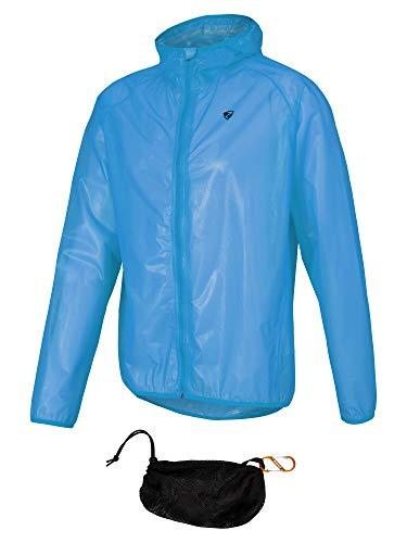 Ziener Nonno Regenjas voor heren, voor op de fiets, outdoor, vrije tijd, waterdicht, ademend, super licht