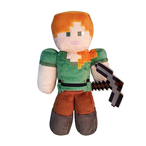 Minecraft Alex Plush Toy 30 cm, Multicoloured (JINX JNXMNCR7664)