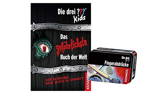 Franckh-Kosmos Verlag Die DREI ??? Kids. Das gefährlichste Buch der Welt: Hast du den Mut, Diese Seiten zu öffnen? + Forscherkästchen (Verschiedene Auswahl)