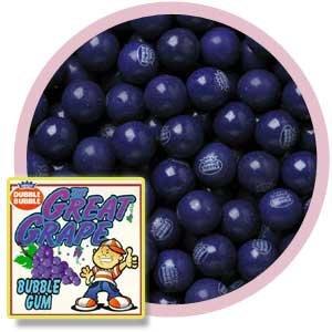 Grape 1' Gumballs, 1LB
