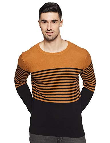 Jack & Jones Men's Cotton Sweater (12169704_Meerkat_L)