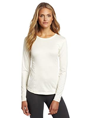 Duofold Women's Mid Weight Varitherm Thermal Shirt, Pearl, Medium