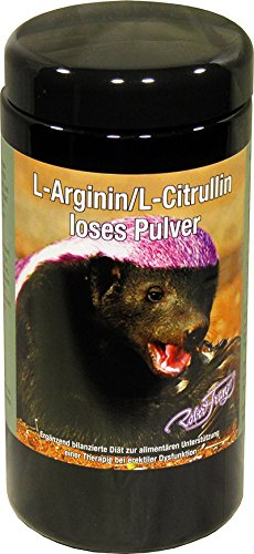 L-Arginin/l-Citrulli Pulver 500 g Robert Franz