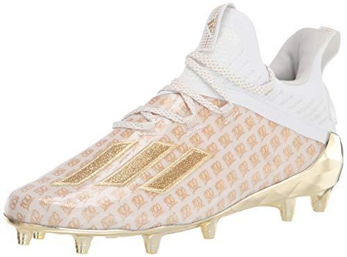 adidas Men's Adizero X Anniversary Sneaker, FTWR White/Gold met./Gold Met, 17 M US