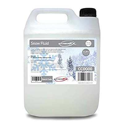 Snow Fluid (1x5L) - Snow machine liquid juice fake snow