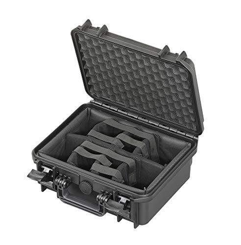 MAX MAX300CAM, Maletín Unisex Adulto, Negro, 300 x 225 x 132 mm